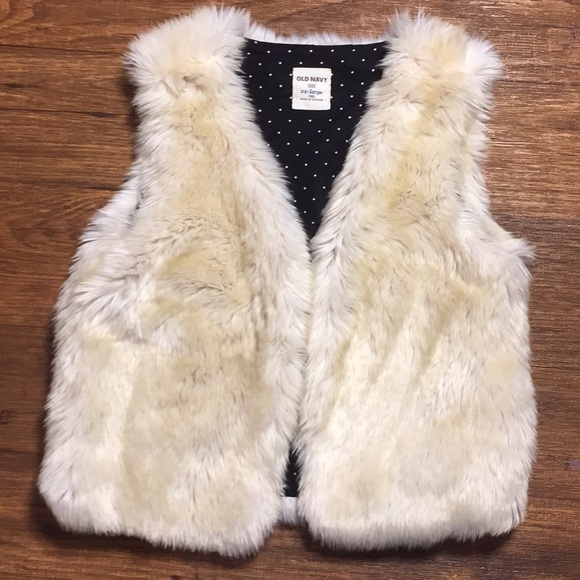 Old Navy Other - Old Navy Girls Faux Fur Vest